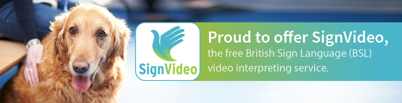 Proud to offer Sign Video
